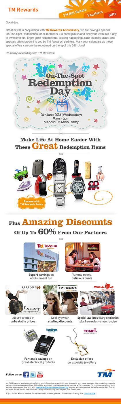 TM Rewards Newsletter