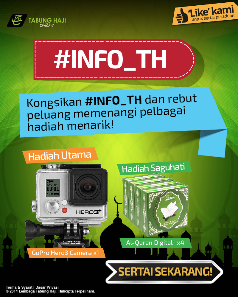 Tabung Haji Info TH Facebook Contest